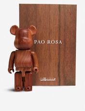 BE@RBRICK KARIMOKU PAO ROSA ROSEWOOD EFFECT 400% FIGURE