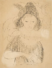 Portrait of Dodo with Hat