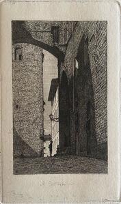 Telemaco Signorini, 'A Pistoia', 1872