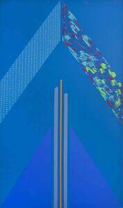 Kevin Atkinson, 'Blue Triangle', 1966