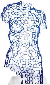 Rainer Lagemann, 'Female Torso (blue)', 2016