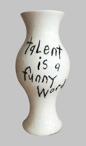 "Cary Leibowitz (""Candy Ass""), 'Talent is a Funny Word', 2019"