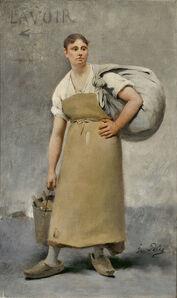 Fernand Pelez, ' La lavandière ', ca. 1880