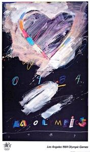 Raymond Saunders, 'Los Angeles 1984 Olympic Games (Hand Signed with Olympic Committee COA)', 1982