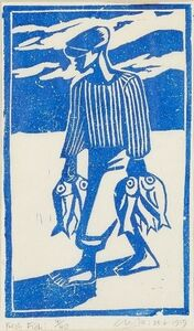 Peter Clarke (1929-2014), 'Fresh Fish', 1959