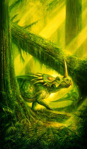 Bob Eggleton, 'Styracasaurus', 2001