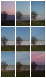 Jeffrey Blondes, 'Lunar Perigee : 09h10m11s Film', 2009
