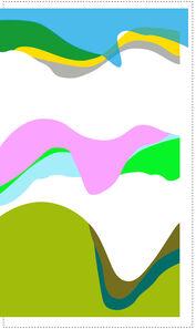 DS LEE, 'Vertical Waves', 2015