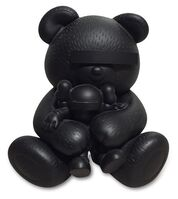 KAWS, 'KAWS X JUN TAKAHASHI UNDERCOVER BEAR BLACK', 2009