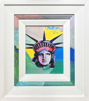 Peter Max, 'LIBERTY HEAD', 1986