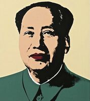Andy Warhol, 'Mao, Yellow (Sunday B. Morning)', 1970-2020