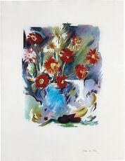 Trichromatic flower-piece