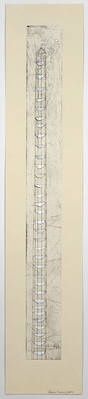 Louise Bourgeois, 'The Sky's the Limit', 1989-2003, Print, Etching with watercolor and gouache on handmade paper, Carolina Nitsch Contemporary Art