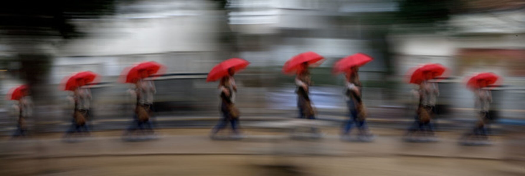 Eitan Vitkon, 'Red Umbrella', 2008