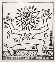 Keith Haring, 'Pop Shop', 1986