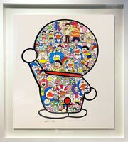 Takashi Murakami, 'Mr. Fujiko F. Fujiro and Doraemon Are in the Field of Flowers (Signed & Framed), 2019', 2019