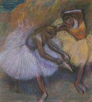 Edgar Degas, 'Two Dancers', 1898
