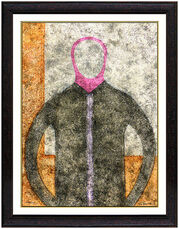 Rufino Tamayo Authentic Original Artwork Color Etching Signed Portrait Personaje