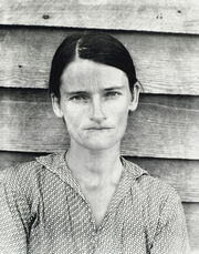 Allie Mae Burroughs, Hale County, Alabama