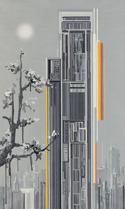 Liu Wei 刘韡 (b. 1972), 'Purple Air 6', 2006