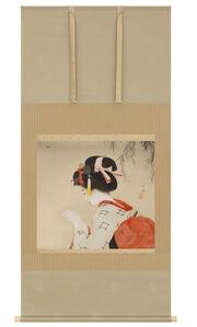 Kitani Chigusa, 'Scroll Painting: Fireflies in Uji (T-3793)', Taisho era (1912, 1926), ca. 1912