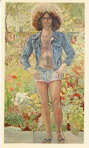 Sylvia Sleigh, 'A.I.R. Gallery, Sylvia Sleigh, Card', 1976