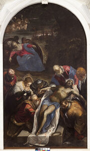 Jacopo Tintoretto, 'The Deposition', 1594