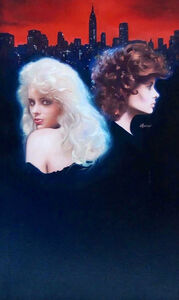 Ron Lesser, 'Blood Sisters, Paperback Cover ', 1990