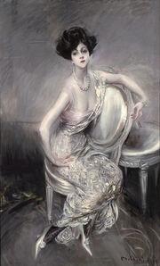 Giovanni Boldini, 'Portrait of Rita de Acosta Lydig', 1911