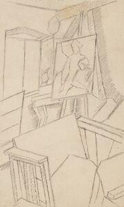 Piero Marussig, 'The artist's studio'