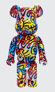 Keith Haring, 'Keith Haring Bearbrick 1000% Companion (Haring DesignerCon BE@RBRICK)', ca. 2017