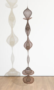 Ruth Asawa, 'Untitled (S.114, Hanging, Six-Lobed Continuous Form within a Form with One Suspended and Two Tied Spheres)', ca. 1958