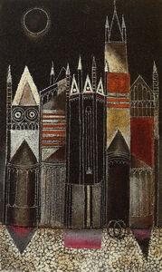 Franco Gentilini, 'SAN FERMO', 1962