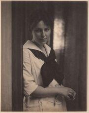 [Portrait of Marie Rapp at 291]