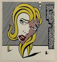 Roy Lichtenstein, 'BLONDE (SURREALIST SERIES)', 1978