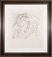 Pablo Picasso, 'Taureau et cheval ', Original 1921; 1979-82