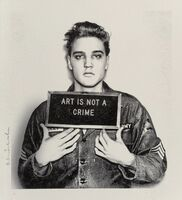 Mr. Brainwash, 'Happy Birthday Elvis (Diamond Dust Edition)', 2019
