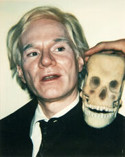 Self-Portrait with Skull
