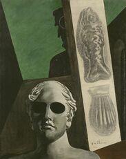 Premonitory portrait of Guillaume Apollinaire