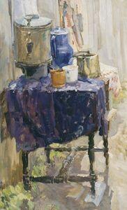 Sergey Antipov, 'Outside the kitchen', 1971