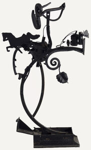 Jean Tinguely, 'Cocktail au Cheval', 1966
