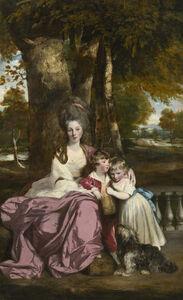 Joshua Reynolds, 'Lady Elizabeth Delmé and Her Children', 1777-1779