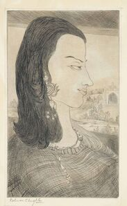 Abdur Rahman Chughtai, 'Untitled (Woman)'