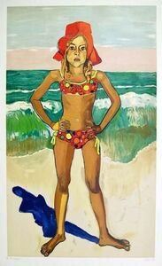 Alice Neel, 'Bather (Olivia with Red Hat)', 1982