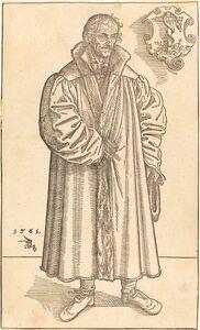 Lucas Cranach the Younger, 'Philip Melanchthon', 1561