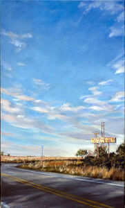 Don Stinson, 'Roggen Motel', 2017