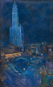 Ethel A. Wallace, 'Prudential Building, Philadelphia', 1913