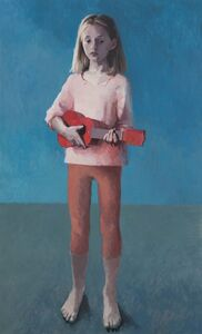 Claerwen James, 'Girl With a Ukulele 1', 2018