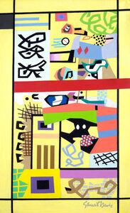 Stuart Davis, 'For Internal Use Only', 1944-1945