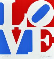 Robert Indiana, 'American Love', 1972